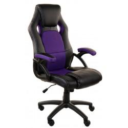 Fotel biurowy FBF czarno-czerwony
