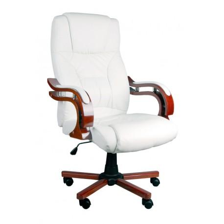 Fotel biurowy LUX biały