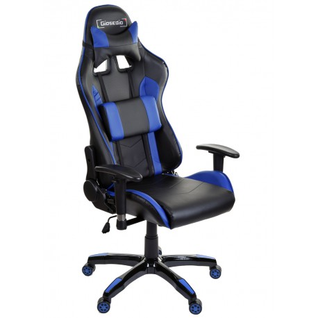 Racing PC Gaming Chefsessel GSA Schwarz/Blau