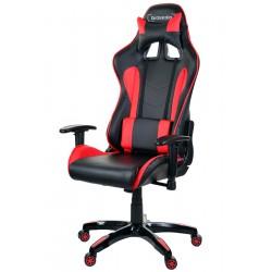 Fotel gamingowy GSA czarno-czerwony