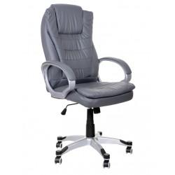 Fotel biurowy BSU szary