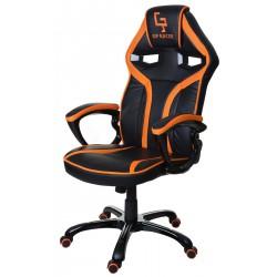 Fotel gamingowy GP Racer czarno-pomarańczowy