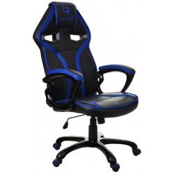 Fotel gamingowy GP Racer czarno-niebieski