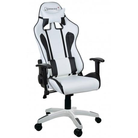 Fotel gamingowy GSA czarno-zielony