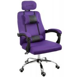 Fotel biurowy RCA czarno-czerwony