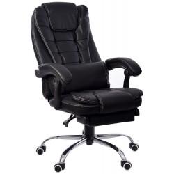 Fotel biurowy GIOSEDIO brązowy, model FBK004W