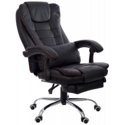 Fotel biurowy GIOSEDIO czarny, model FBK004R