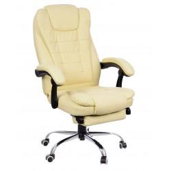 Fotel biurowy GIOSEDIO brązowy, model FBK005