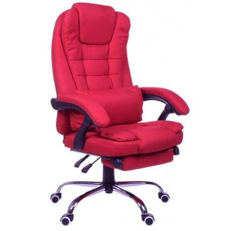 Fotel biurowy GIOSEDIO czerwony, model FBR001