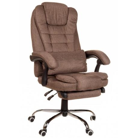 Fotel biurowy GIOSEDIO brązowy, model FBR003