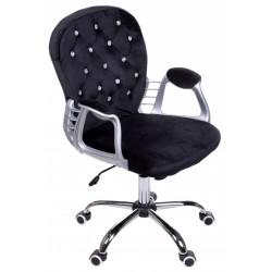 Fotel biurowy GIOSEDIO czarny, model FMA004