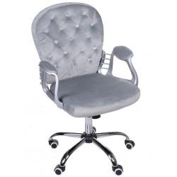 Fotel biurowy GIOSEDIO szary, model FMA011