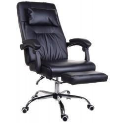 Fotel biurowy GIOSEDIO czarny, model OCA004