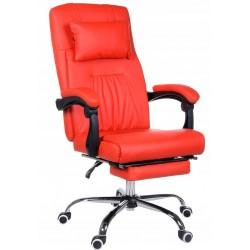 Fotel biurowy GIOSEDIO czerwony, model OCA001