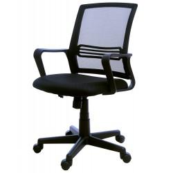 Fotel biurowy GIOSEDIO czarny, model FBX004