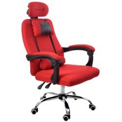 Fotel biurowy GIOSEDIO czerwony, model GPX001