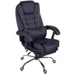 Fotel biurowy GIOSEDIO czarny, model FBR004R