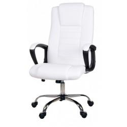 Fotel biurowy GIOSEDIO biały, model FBS002