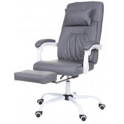 Fotel biurowy GIOSEDIO szary, OCA011
