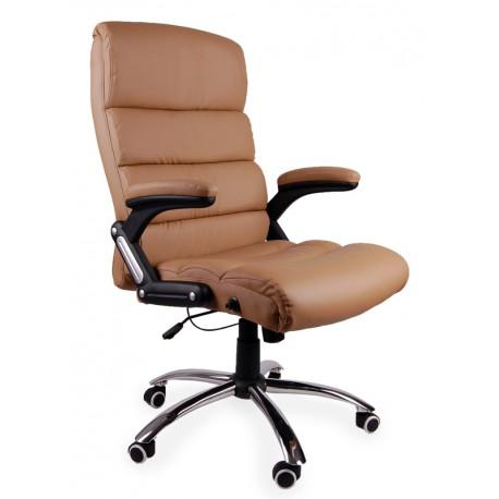 Fotel biurowy DECO beżowy