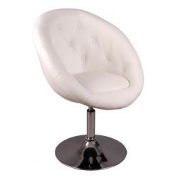 Barová židle HBC bílá