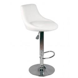 Barová židle HBE bílá