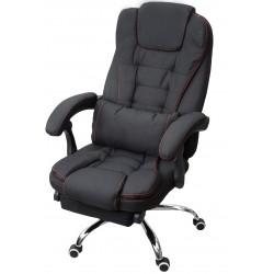 Fotel biurowy GIOSEDIO szary, model FBR011