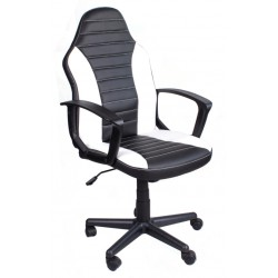 OFFICE ARMCHAIR FBE BLACK & WHITE