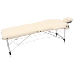 Łóżko składane do masażu, czarne.