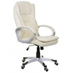 Fotel biurowy BSU beżowy