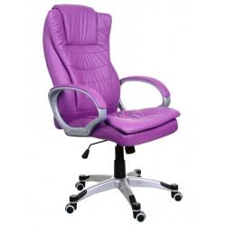 Fotel biurowy BSU fioletowy