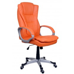 Fotel biurowy BSU pomarańczowy
