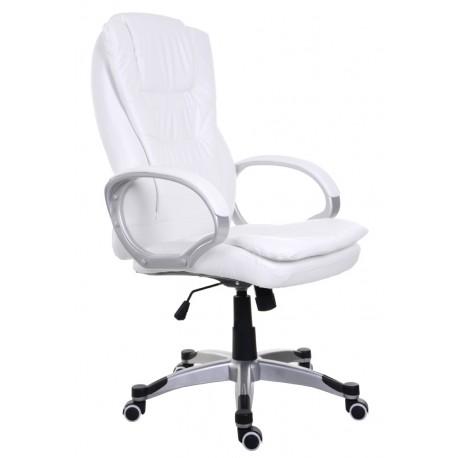 Fotel biurowy BSU biały