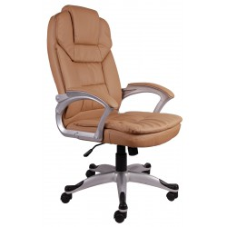 Fotel biurowy GIOSEDIO ciemny beż,model BSM005